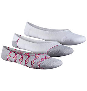 Women's Pattern Marl Liner- 3 Pack