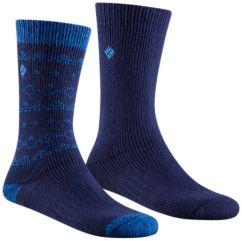Women's Stripe Wool Crew Sock - 2 Pack