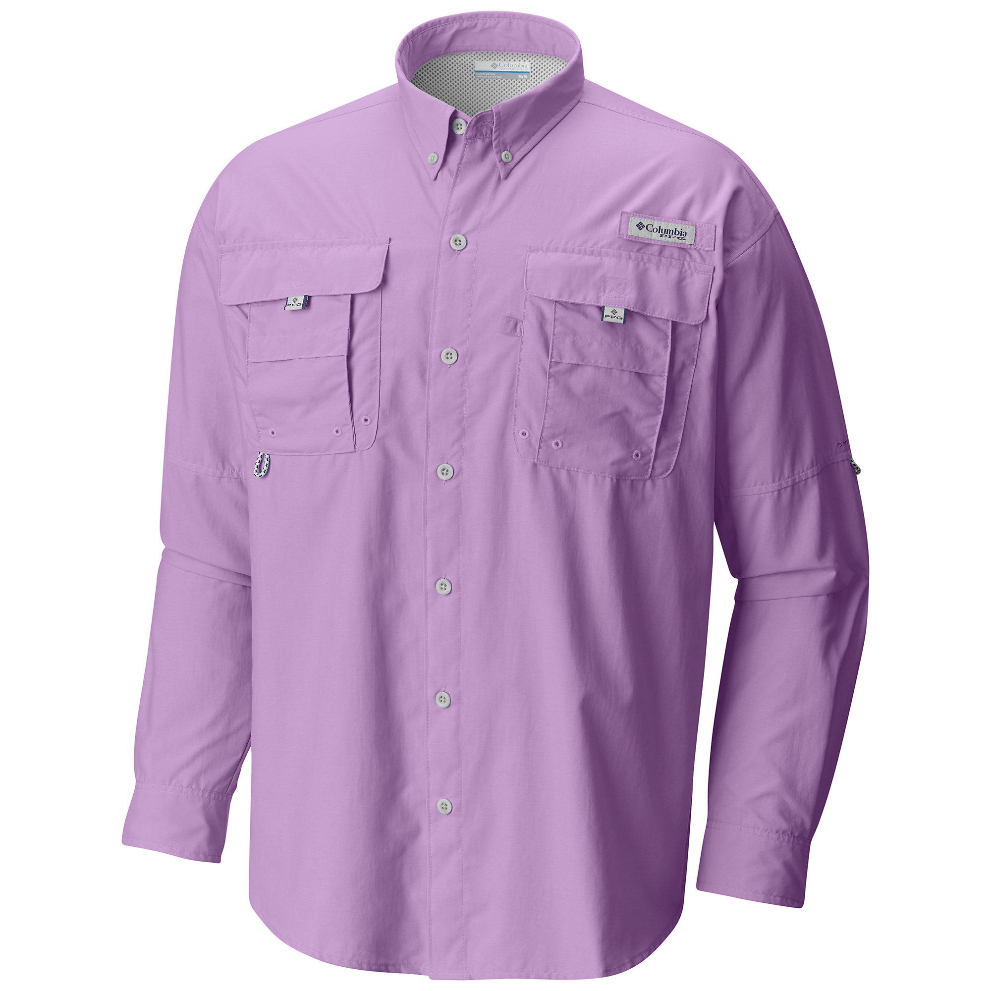 photo: Columbia Bahama II Long Sleeve Shirt hiking shirt