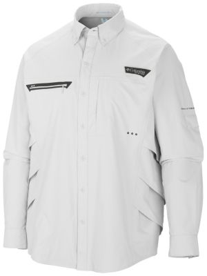 photo: Columbia Airgill Chill Zero Long Sleeve hiking shirt