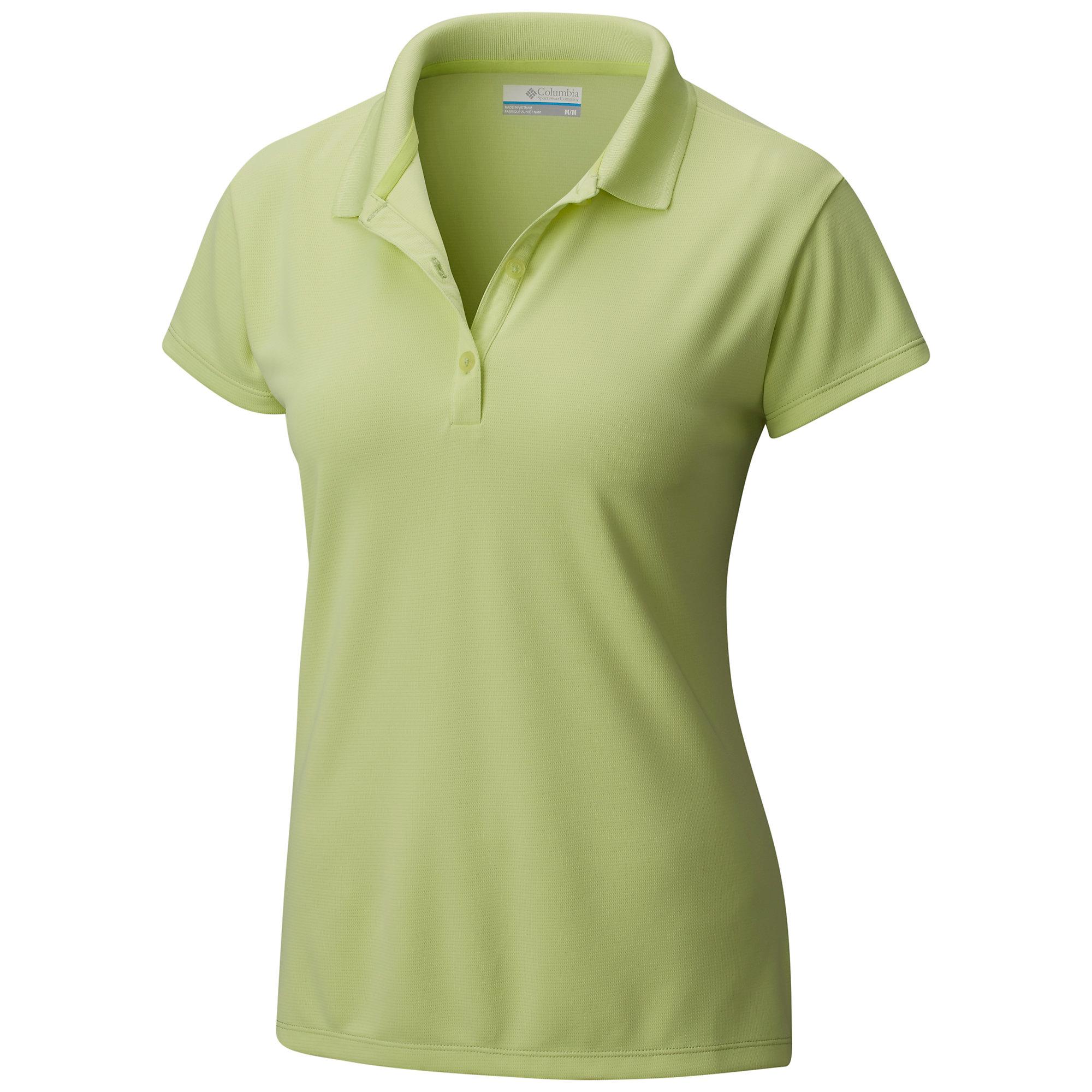photo: Columbia Innisfree Short Sleeve Polo short sleeve performance top