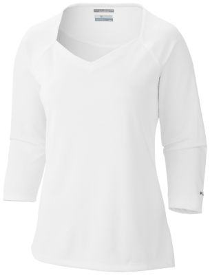 Womens PFG Skiff Guide™ 3/4 Sleeve - Extended Size