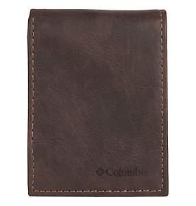 Men's Crazy Horse Slimfold Wallet