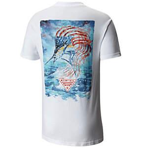 Men's PFG Artistic Americana Short Sleeve TShirt