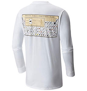 Men's PFG Periodic Chart Long Sleeve Tee Shirt