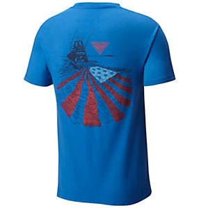 Men's PFG Wake Cotton Tee Shirt