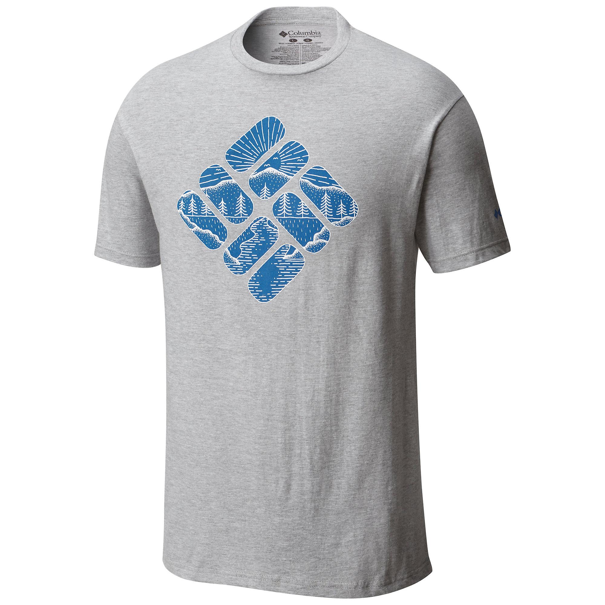 Columbia Men's Pizza SS Tee Shirt  039  S- 190344677201