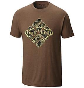 Men's Pizza Cotton Blend Tee Shirt