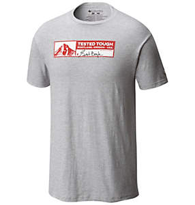 Men's Tested Tough Stamp Cotton Tee Shirt
