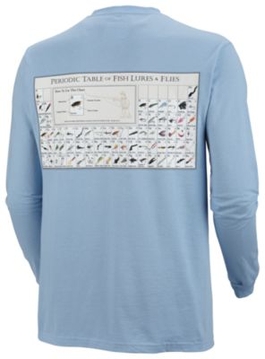 Men's PFG Periodic Chart™ Long Sleeve Tee