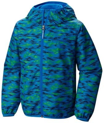 photo: Columbia Girls' Pixel Grabber II Wind Jacket