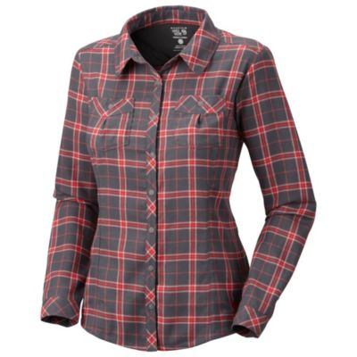 photo: Mountain Hardwear Women's Trekkin Flannel Shirt hiking shirt