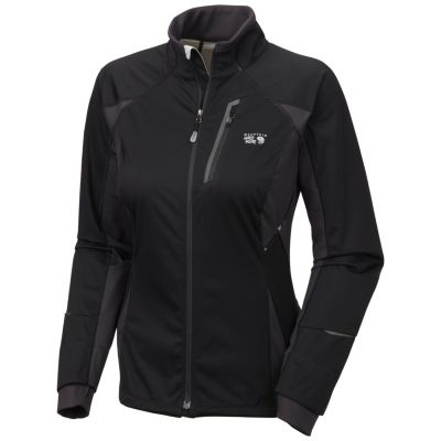 photo: Mountain Hardwear Women's Effusion Power Jacket soft shell jacket