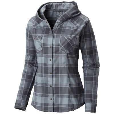 Women's Stretchstone Flannel™ Hooded Shirt