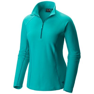 photo: Mountain Hardwear Women's MicroChill Zip T