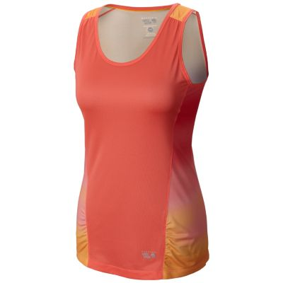 photo: Mountain Hardwear Wicked Electric Tank short sleeve performance top