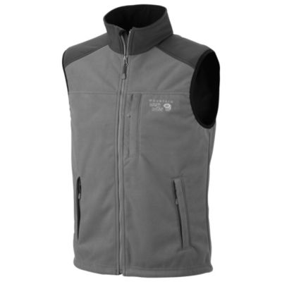 photo: Mountain Hardwear Windstopper Tech Vest fleece vest