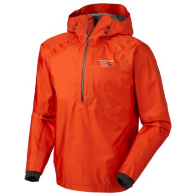 photo: Mountain Hardwear Men's Quasar Pullover waterproof jacket