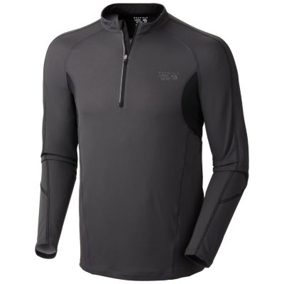photo: Mountain Hardwear Elmoro L/S Zip T long sleeve performance top