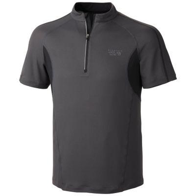 photo: Mountain Hardwear Elmoro S/S Zip T short sleeve performance top