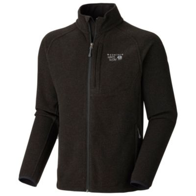 photo: Mountain Hardwear Men's Toasty Tweed Fleece Jacket
