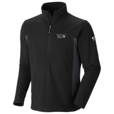 photo: Mountain Hardwear Men's Microchill Tech Zip-T fleece top