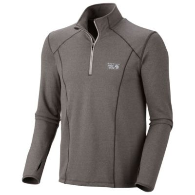 photo: Mountain Hardwear Beta Power 1/4 Zip long sleeve performance top