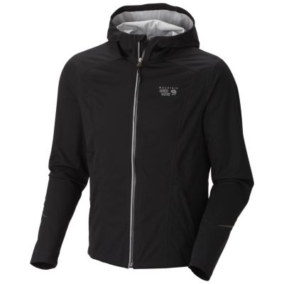 photo: Mountain Hardwear Effusion Hooded Jacket soft shell jacket