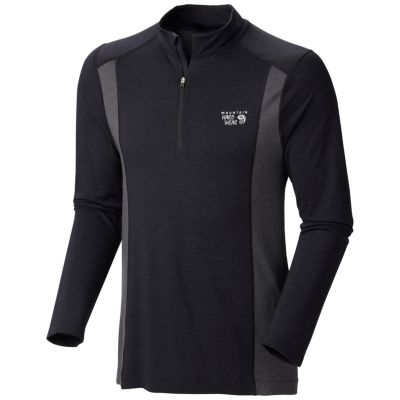 photo: Mountain Hardwear Men's Integral Pro Long Sleeve Zip T