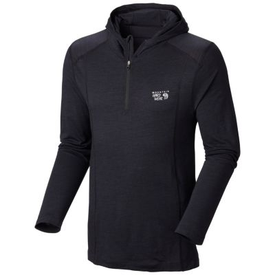 photo: Mountain Hardwear Men's Integral Pro Long Sleeve Hoody long sleeve performance top