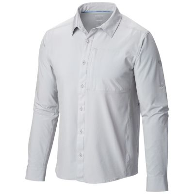 photo: Mountain Hardwear Chiller Long Sleeve Shirt hiking shirt
