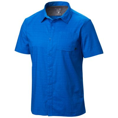 photo: Mountain Hardwear McLane S/S Shirt hiking shirt