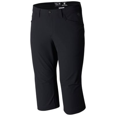 photo: Mountain Hardwear Chockstone Midweight 3/4 Pant climbing pant