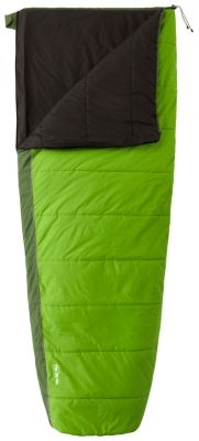 photo: Mountain Hardwear Flip 35°/50° warm weather synthetic sleeping bag