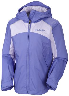 photo: Columbia Girls' Wet Reflect Jacket waterproof jacket