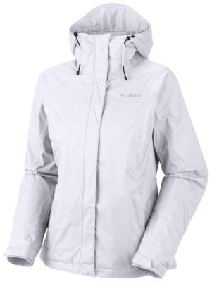 Images of White Columbia Rain Jacket - Reikian