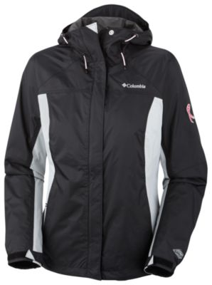 Women's Tested Tough In Pink™ Rain Jacket