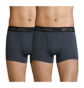 Men's Athletic Stretch Trunks x2