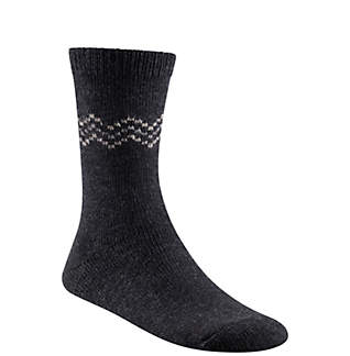 Women's Chevron Wool Crew Sock