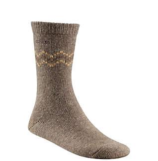 Women's Chevron Wool Crew Sock
