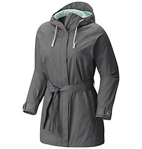 Women's Pardon My Trench™ Rain Jacket - Plus Size