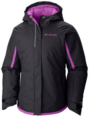 photo: Columbia Girls' Alpine Action Jacket synthetic insulated jacket
