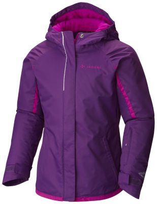 photo: Columbia Girls' Alpine Action Jacket synthetic insulated jacket
