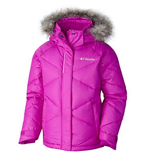 Girl's Mini Lay D Down Jacket