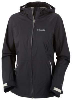 photo: Columbia Women's Tracer Racer Shell waterproof jacket