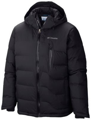 Men's Powder Down hooded down jacket with venting | Columbia.com