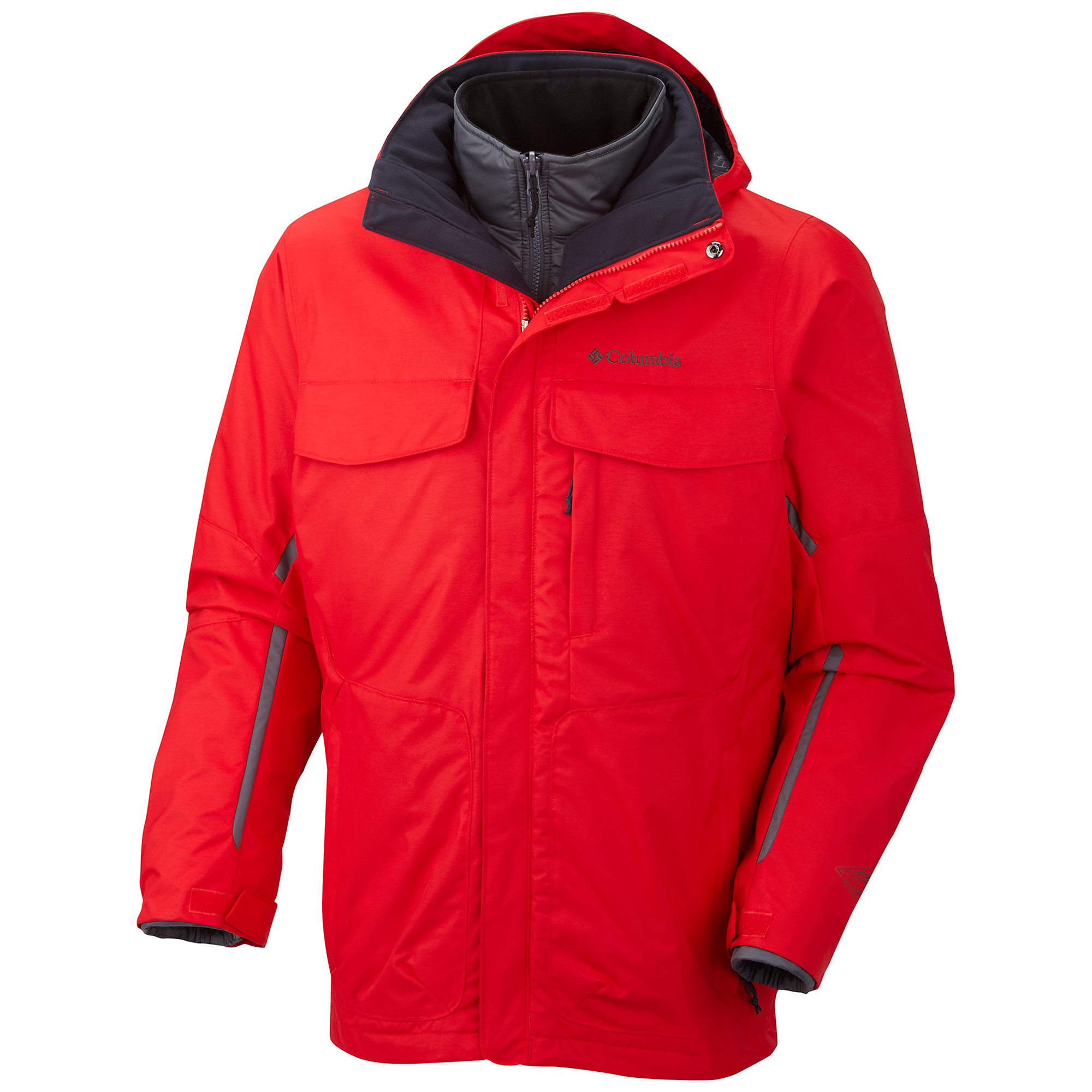 photo: Columbia Bugaboo Interchange Parka component (3-in-1) jacket