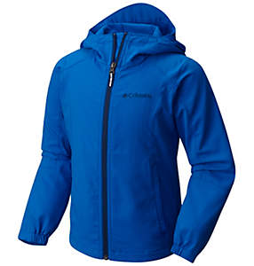 Manteau coquille souple avec capuchon SplashFlash™ II pour garçons