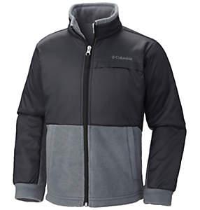 Boys' Steens Mountain™ Overlay Fleece Jacket