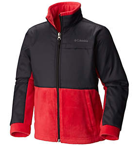 Boys' Steens Mountain™ Overlay Fleece Jacket